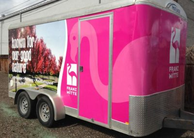 Boise Vehicle Wraps Trailer